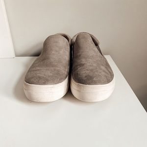 Gray Slip-On Sneakers